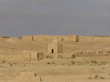Das Ruinenfeld von Sidschilmasa