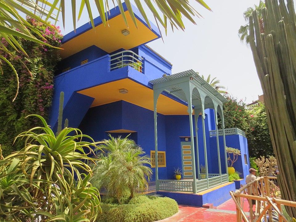 Jardin Majorelle mit Villa