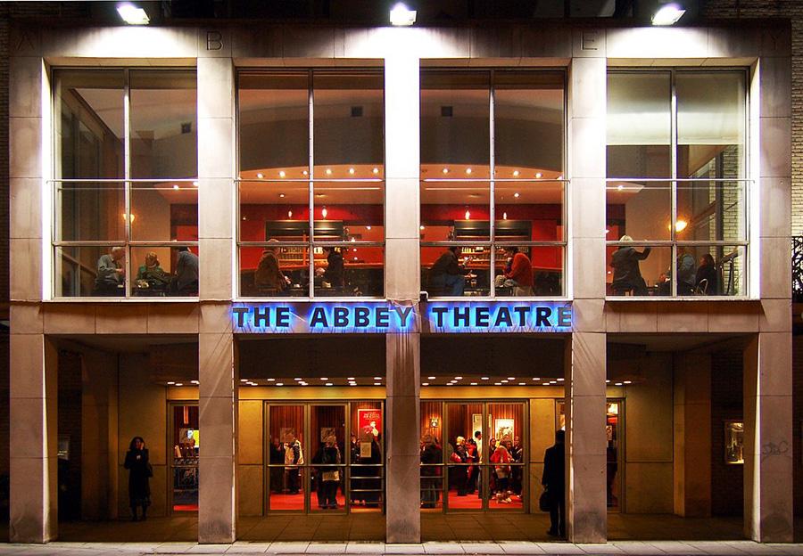 Abbey Theatre in Dublin