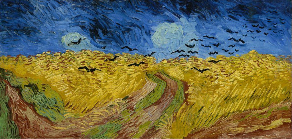 Vincent van Gogh: Weizenfeld mit Krähen