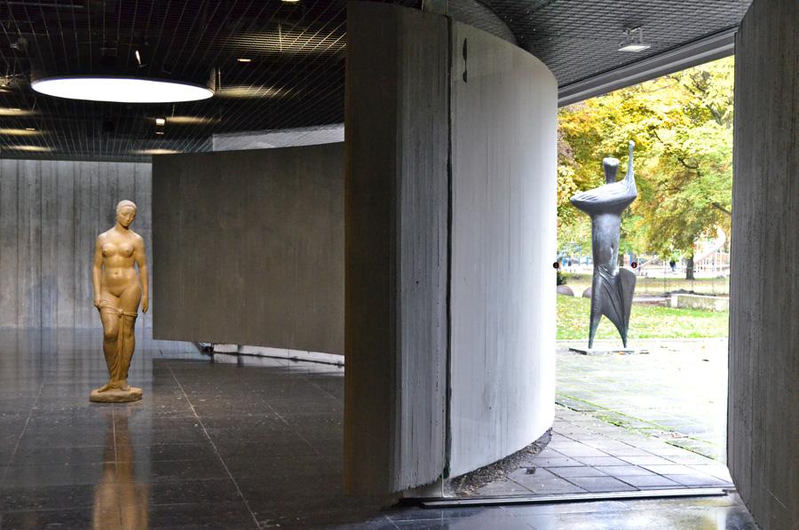 Aussen und Innen im Lehmbruck Museum