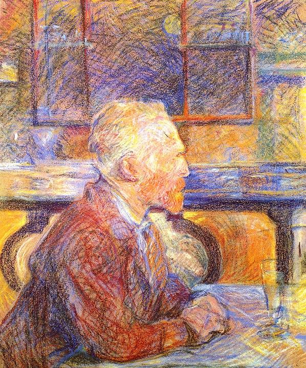 Toulouse-Lautrec: Porträt Vincent van Gogh