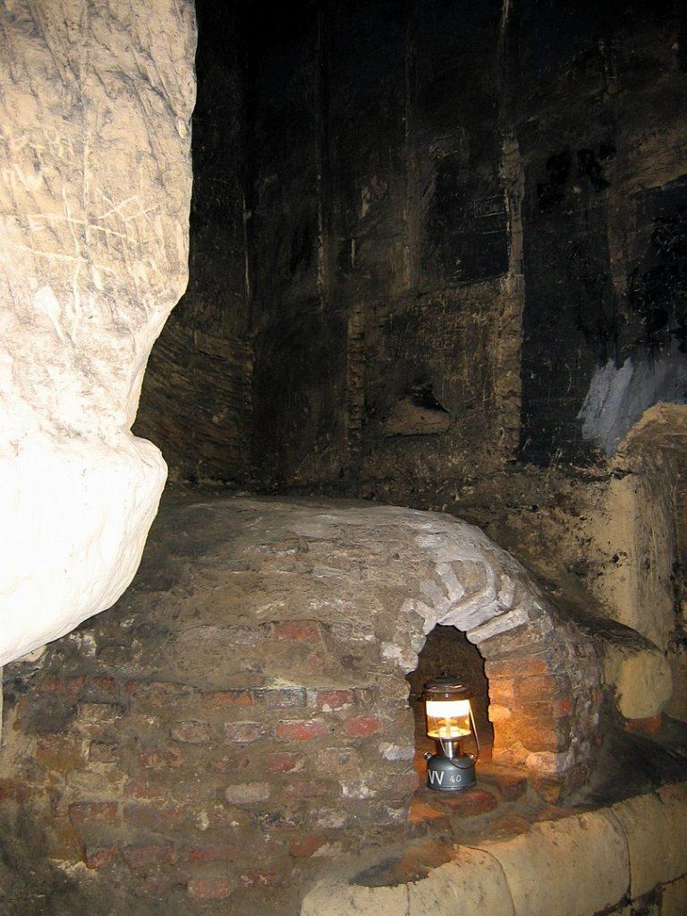 Ofen in den Grotten im St. Pietersberg