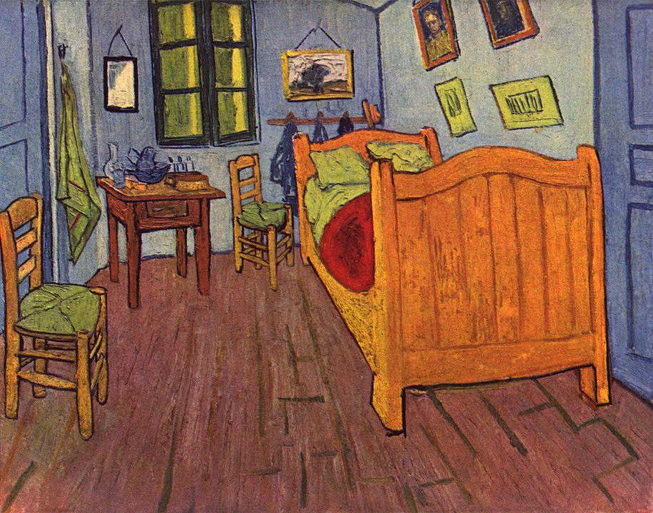 Vincent van Gogh: Vincents Schlafzimmer