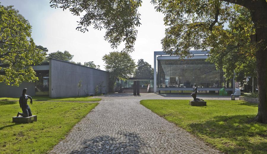 Skulpturenpark des Museums