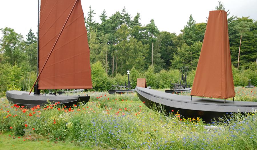 """""""Armada"""" von C. Rogge im Skulpturenpark"""