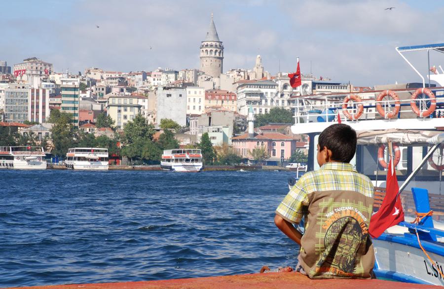 Beyoglu mit dem Galata-Turm