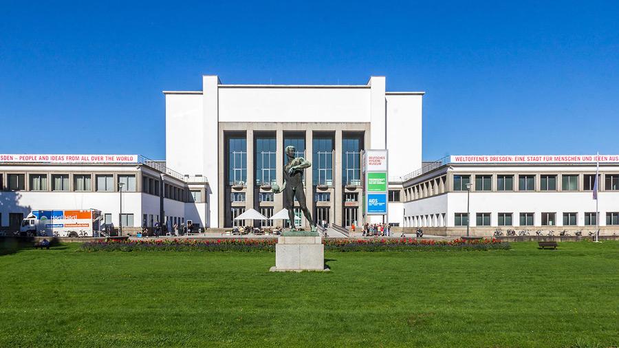 Eingangsbereich des Deutschen Hygienemuseums